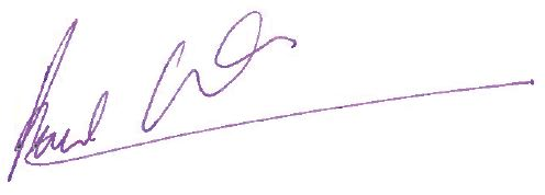 Paul Kenwood's Signature