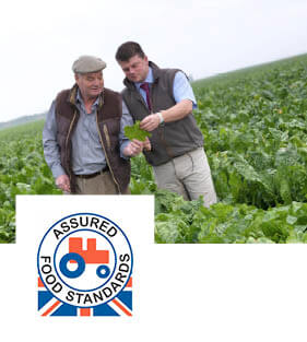 Farmers and Red Tractor food standards